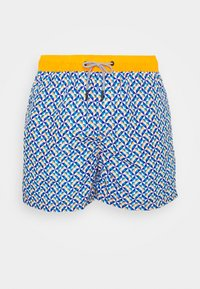 Jack & Jones - JJIARUBA GEOMETRIC - Shorts da mare - flame - 2