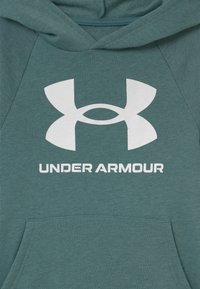 Under Armour - Felpa con cappuccio - lichen blue light heather - 2
