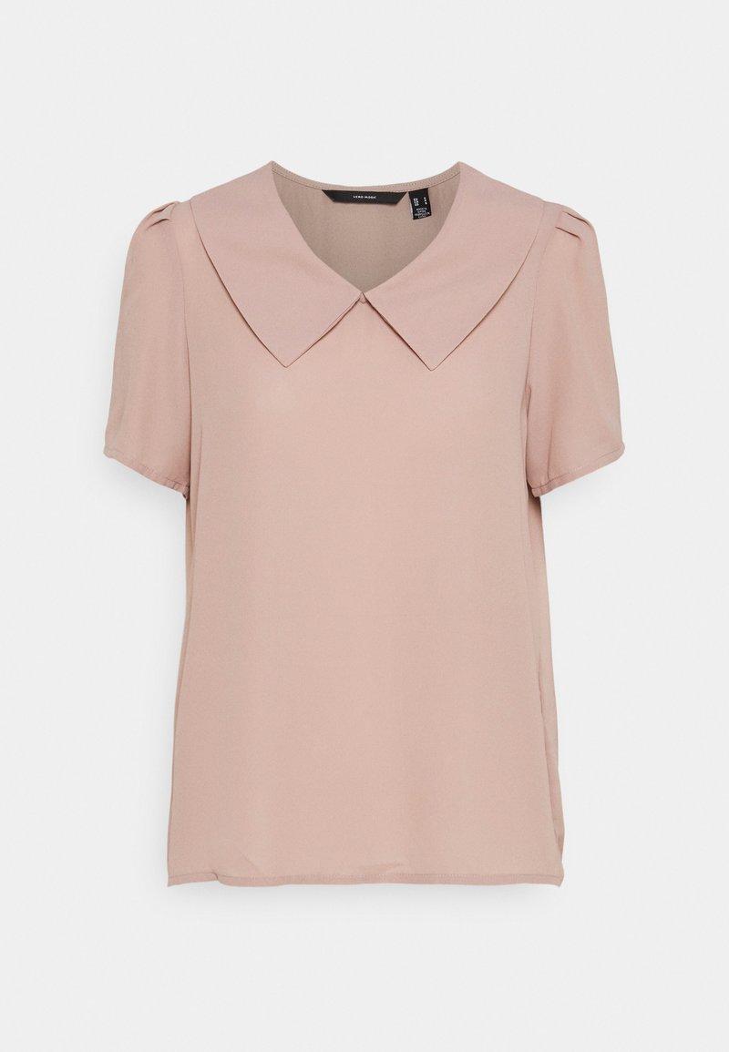 Vero Moda - VMMILA - Basic T-shirt - fawn