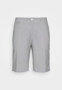 Casual Friday - SHORTS CFPERSEY STRIPE - Shorts - ecru - 4