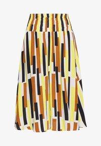 Masai - SONDRA - Áčková sukně - cream gold - 3