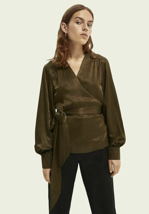 Blouse - military