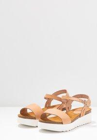 Grand Step Shoes - EDEN - Platform sandals - sand - 4