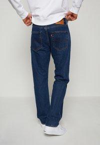 Levi's® - 551Z™ AUTHENTIC STRAIGHT - Straight leg jeans - dark blue denim - 3