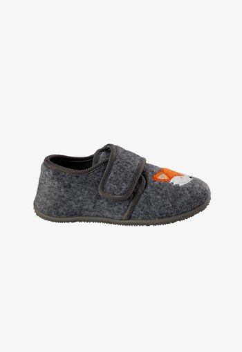 KINDER-HS - Slippers - grau fox