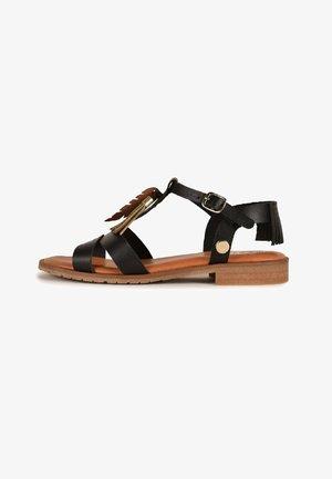 ARTEMIS - Sandalias de dedo - black