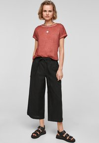 Q/S designed by - Trousers - black - 1
