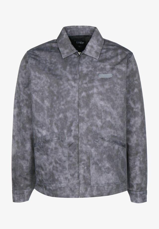 COACH JACKE MASTERPIECE - Korte jassen - grey mineral wash
