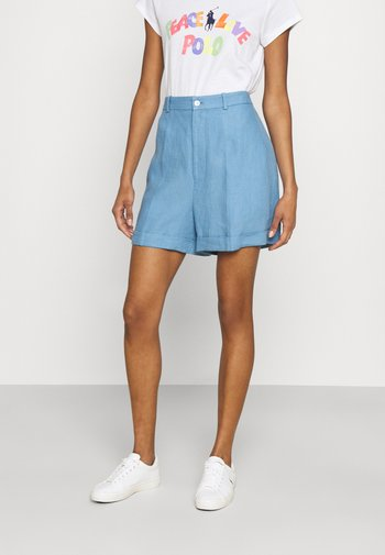 Shorts - chambray blue