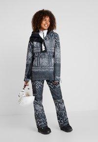 DC Shoes - ENVY ANORAK - Chaqueta de snowboard - black mud - 1