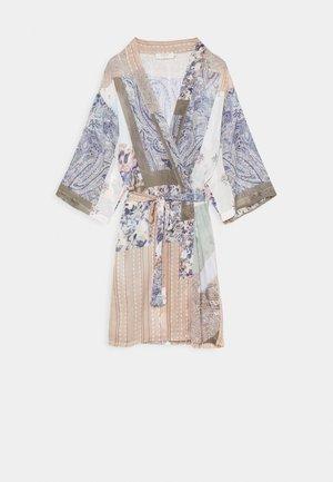 DANICA PATCHWORK KIMONO - Summer jacket - desert sage