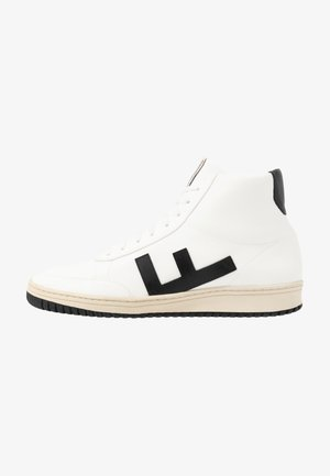 OLD 80'S - High-top trainers - white/black