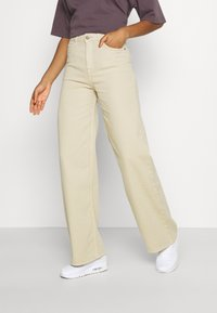 Lee - STELLA A LINE - Flared Jeans - sand - 0