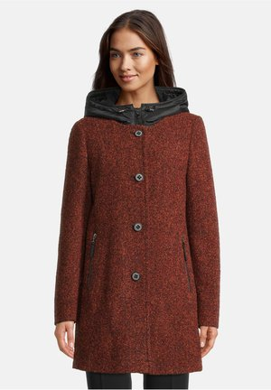 Short coat - redwood