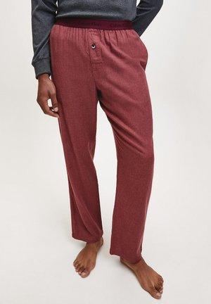 Pyjama bottoms - malbec heather