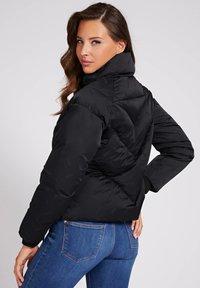 Guess - WATTIERTE JACQUARD A$AP ROCKY - Winter jacket - schwarz - 2