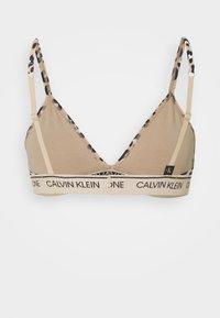Calvin Klein Underwear - ONE UNLINED - Triangel-BH - beige - 1