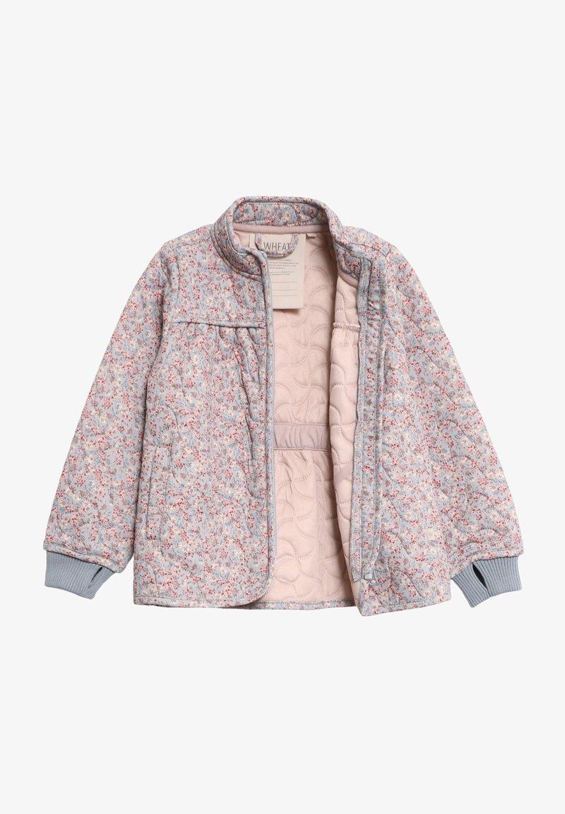 Wheat - THILDE - Winter jacket - dusty dove flowers