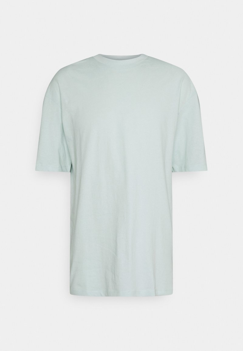 Jack & Jones - JORBRINK CREW NECK - Jednoduché triko - pale blue