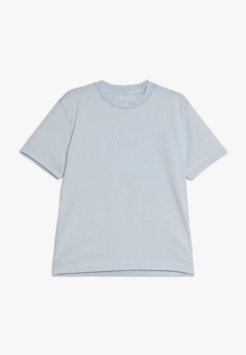Guess - JUNIOR UNISEX OVERSIZE  - Camiseta básica - starlight blue