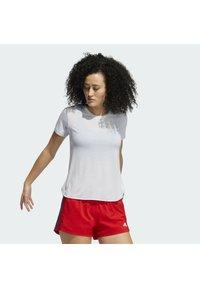 adidas Performance - GO TO TEE  - T-shirt basique - white - 2