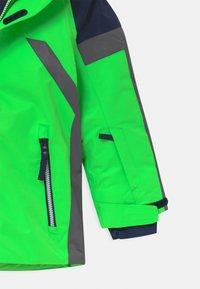 CMP - BOY SNAPS HOOD - Lyžařská bunda - verde fluo - 4