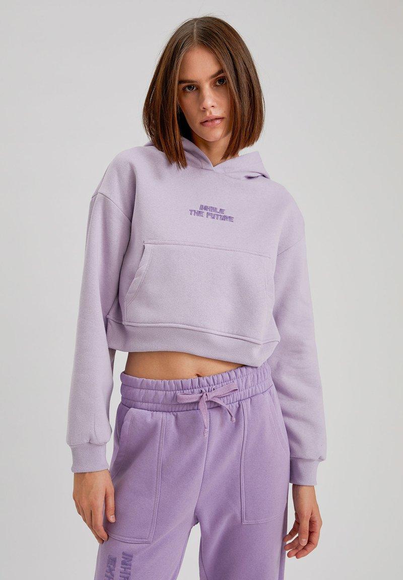 DeFacto - Hoodie - purple