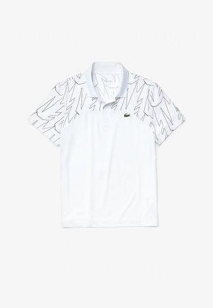 Polo shirt - blanc/bleu marine