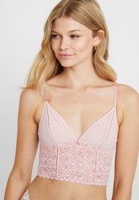 AMOSTYLE - TRENDY FIT SEAM CUP FASHION COLLECTION CAMI - Undertrøye - pink - 3