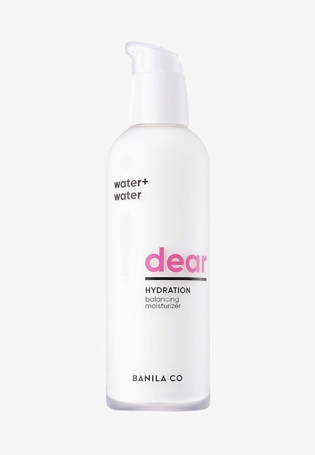 DEAR HYDRATION BALANCING MOISTURIZER - Face cream - -