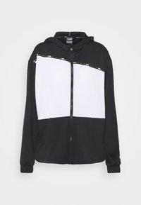 Puma - TRAIN LOGO ULTRA JACKET - Training jacket - black/white - 5