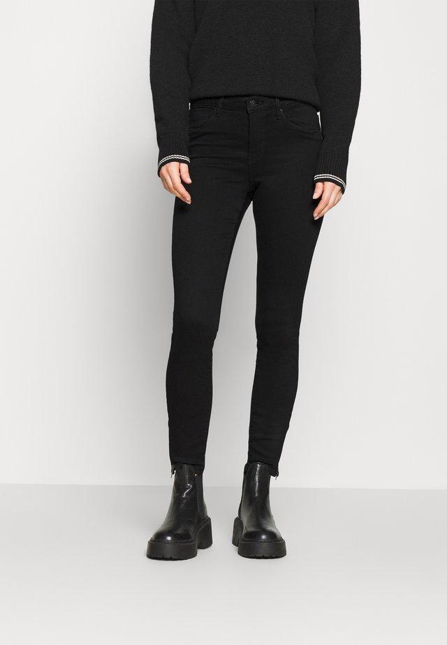 VMTILDE ANKLE ZIP  - Jeans Skinny Fit - black denim