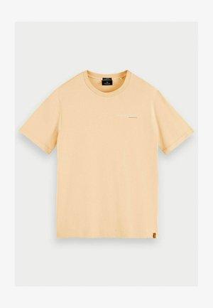 Print T-shirt - flax