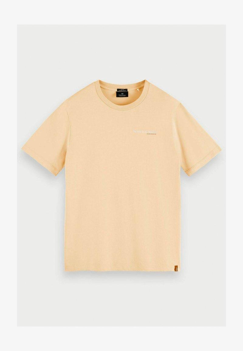 Scotch & Soda - Print T-shirt - flax