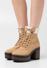 Even&Odd - Winter boots - sand - 0
