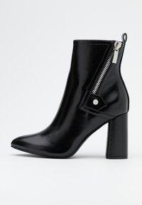 ONLY SHOES - ONLBRODIE ZIP BOOT  - Støvletter - black - 1