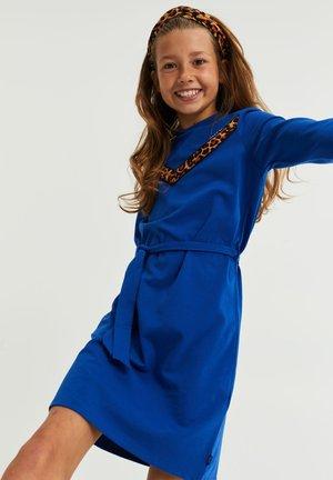Jersey dress - cobalt blue