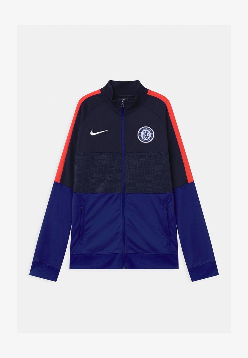 Nike Performance - CHELSEA LONDON FC ANTHEM UNISEX - Club wear - blackened blue/concord/ember glow/white