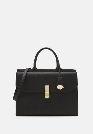 YAEMWEN - Handbag - jet black/gold-coloured