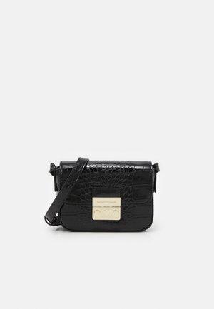 GIORGIA CROCO WOMEN'S MINIBAG - Across body bag - nero