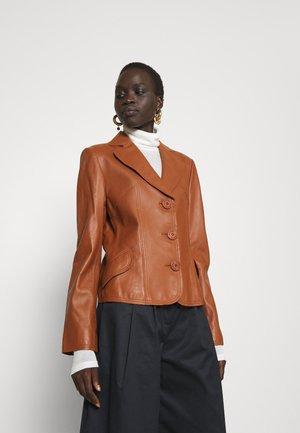 RANCHERA LUXURY - Kožená bunda - dusty copper