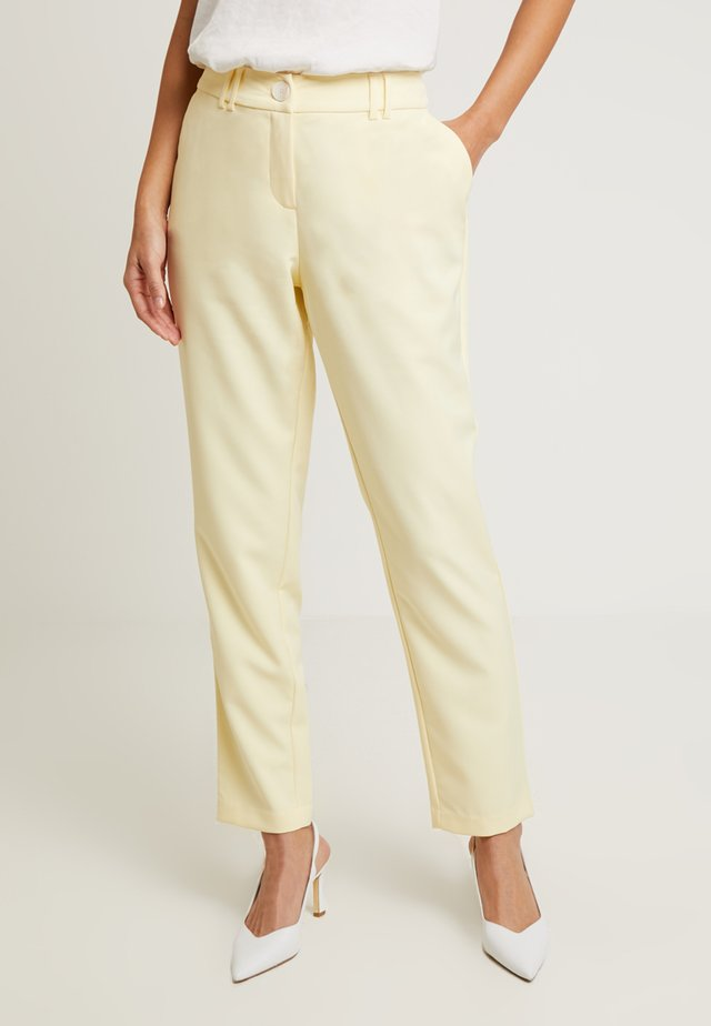 SUIT TROUSERS - Tygbyxor - yellows