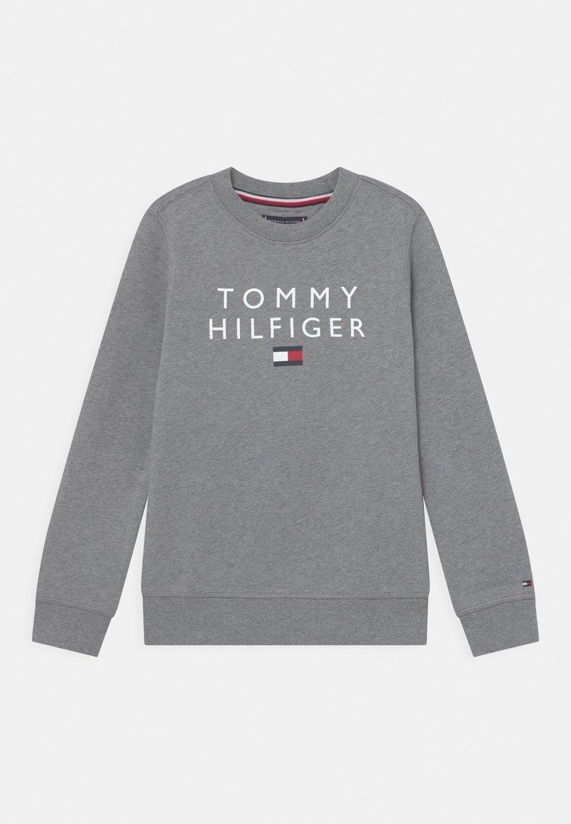 Tommy Hilfiger - FLAG CREWNECK - Sweater - medium grey heather