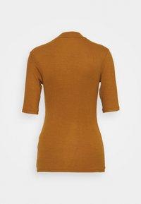 Modström - KROWN - Basic T-shirt - brown oak - 7