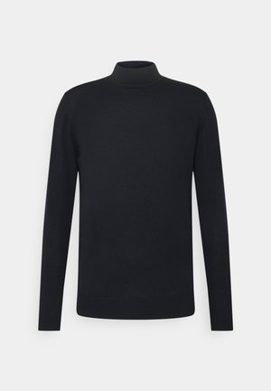 TURTLENECK - Stickad tröja - navy