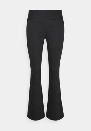 OLIVIA BOOTCUT PANT - Bukser - black