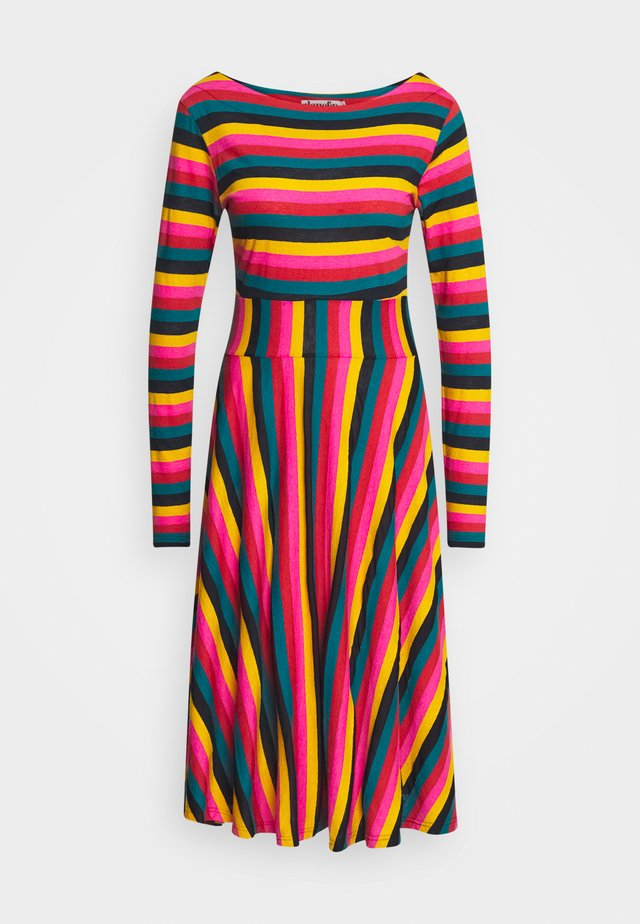 SIGRID DRESS - Jersey dress - multi-coloured