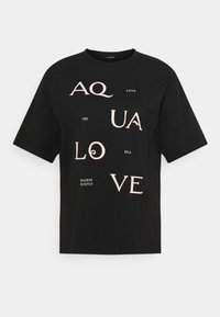 Scotch & Soda - TEE WITH POSTER GRAPHIC - Print T-shirt - black - 0