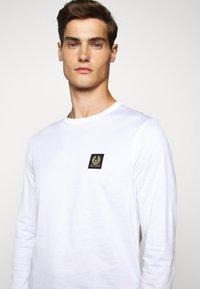 Belstaff - LONG SLEEVED  - Long sleeved top - white - 9