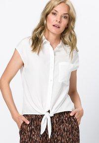 zero - Button-down blouse - offwhite - 0